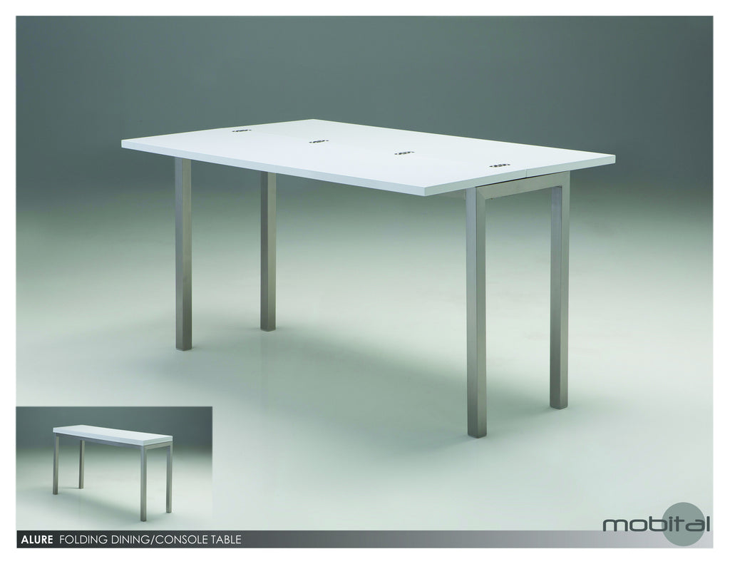 Alure Din. Table/sofa Table  (White)