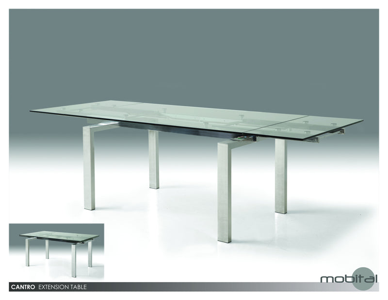 Cantro Din. Table  (Red)