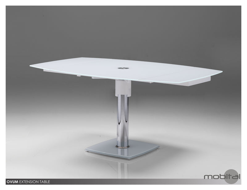 Ovum Dining Table Ext.  (White)