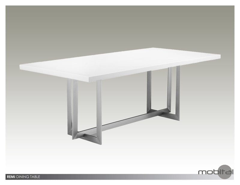 Remi Dining Table   (White)