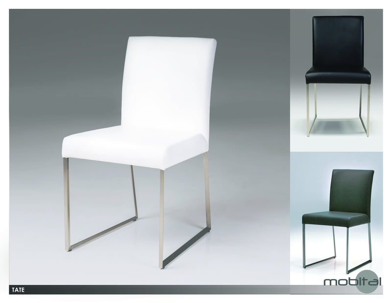 Tate Din. Chair  (White)