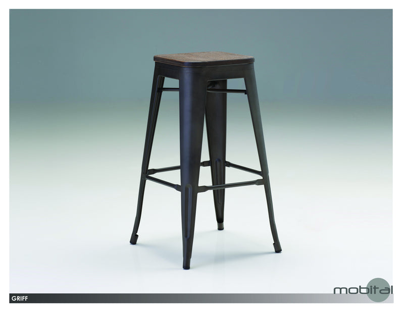 Griff Counter Stool  (Bronze)