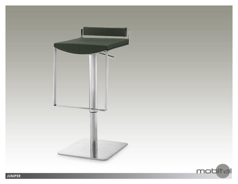 Juniper Hydraulic Bar Stool  (Cashmere)