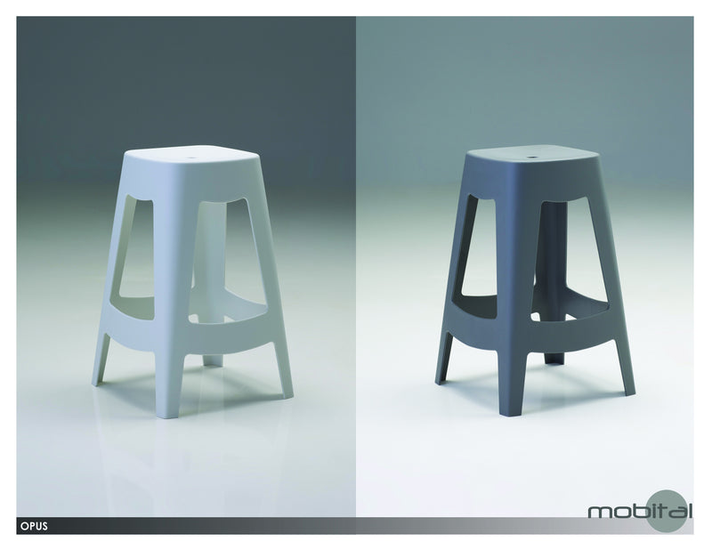 Opus Counter Stool  (White)