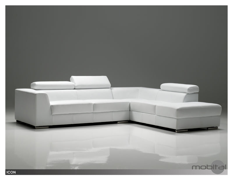 Icon Sectional Lsf Chs  (Grey)