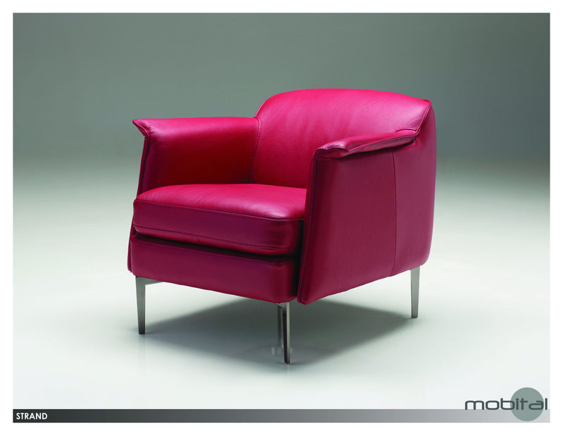 Strand Lounge Chair  (Red)