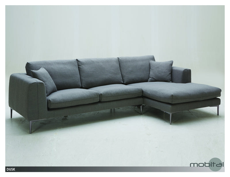 Dusk Sectional Lsf Chaise  (Grey)