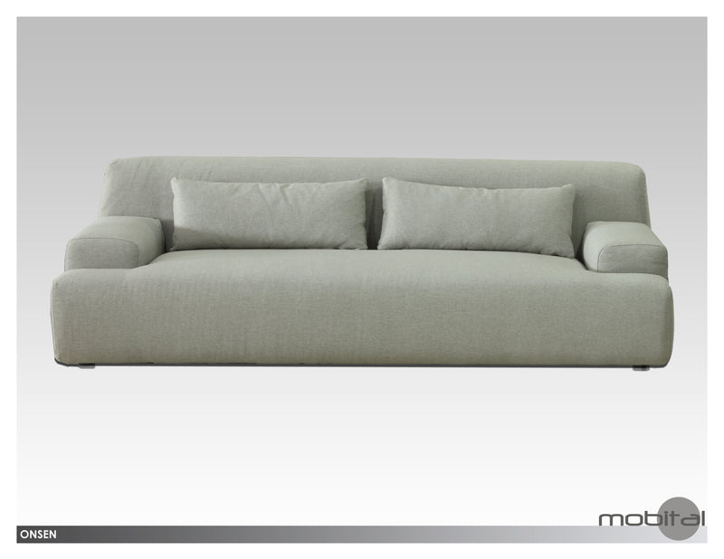 Onsen Sofa  (Light Grey)