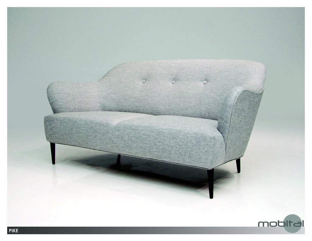 Pike Sofa  (Grey Tweed)