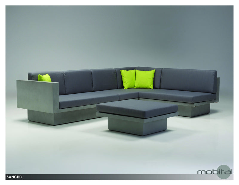 Sancho Sectional  (Grey)