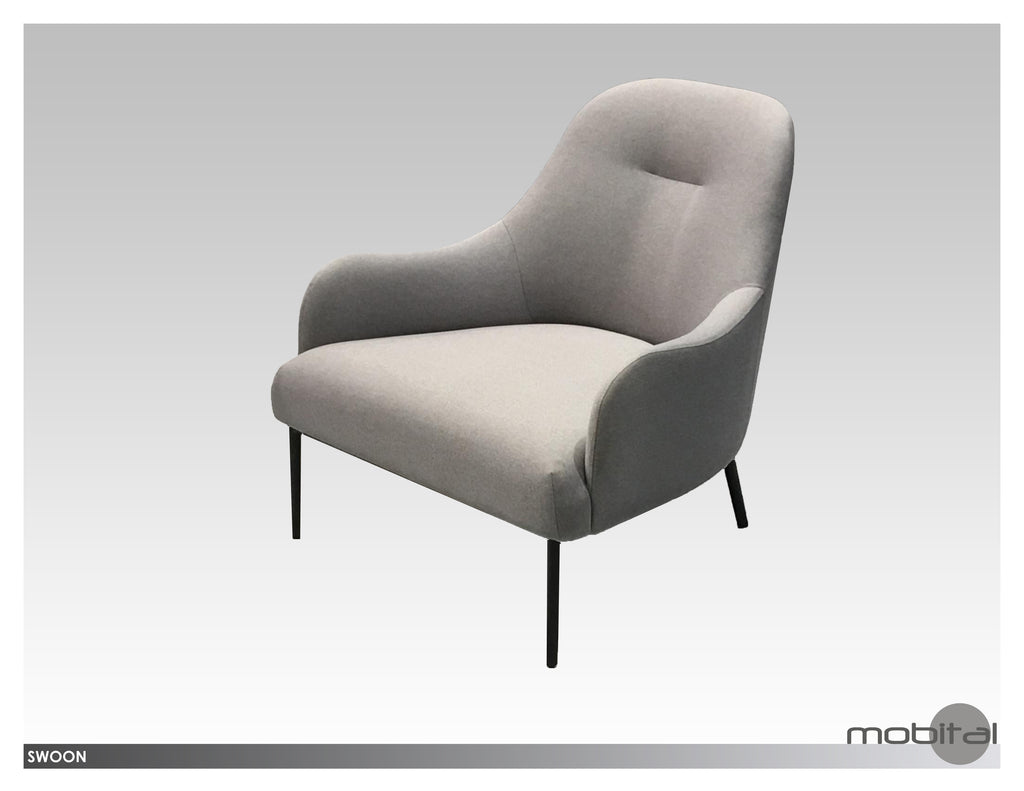 Swoon Lounge Chair  (Grey)
