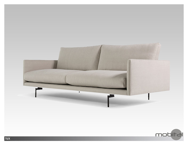 Tux Sofa  (Light Grey)