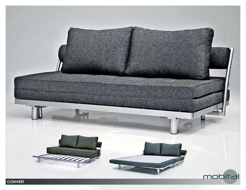 Convert Sofabed K.  (Charcoal)