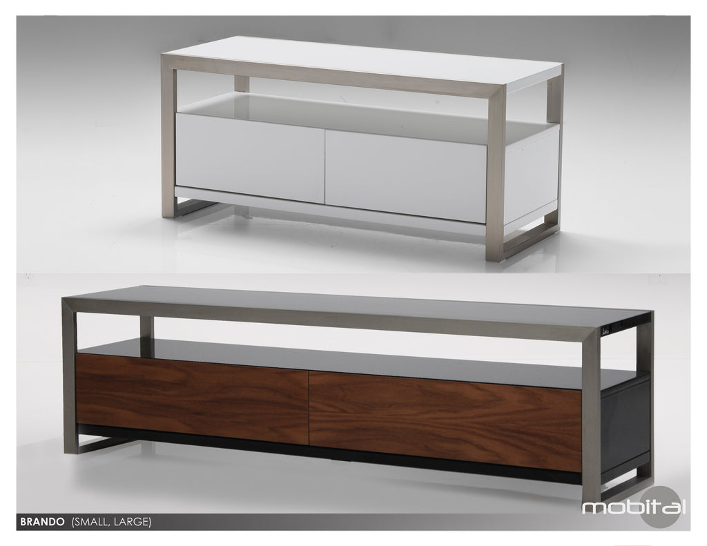 Brando Tv Unit  (High Gloss White)