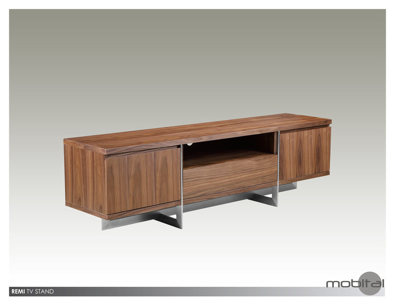 Remi Tv Unit  (Walnut)