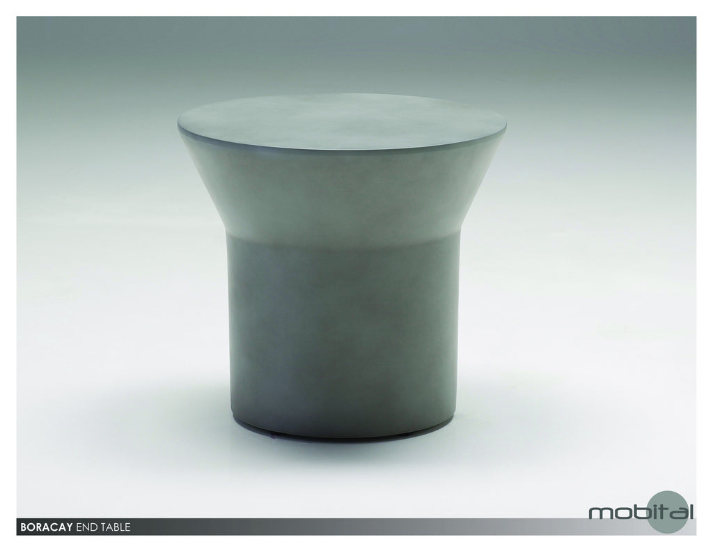 Boracay End Table  (Grey)