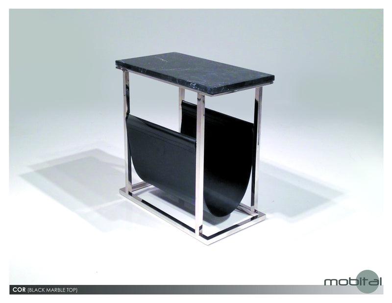 Cor Mag. End Table  (Black)