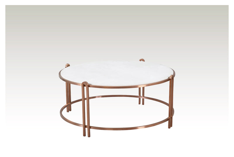 Empire Coffee Table  (White)