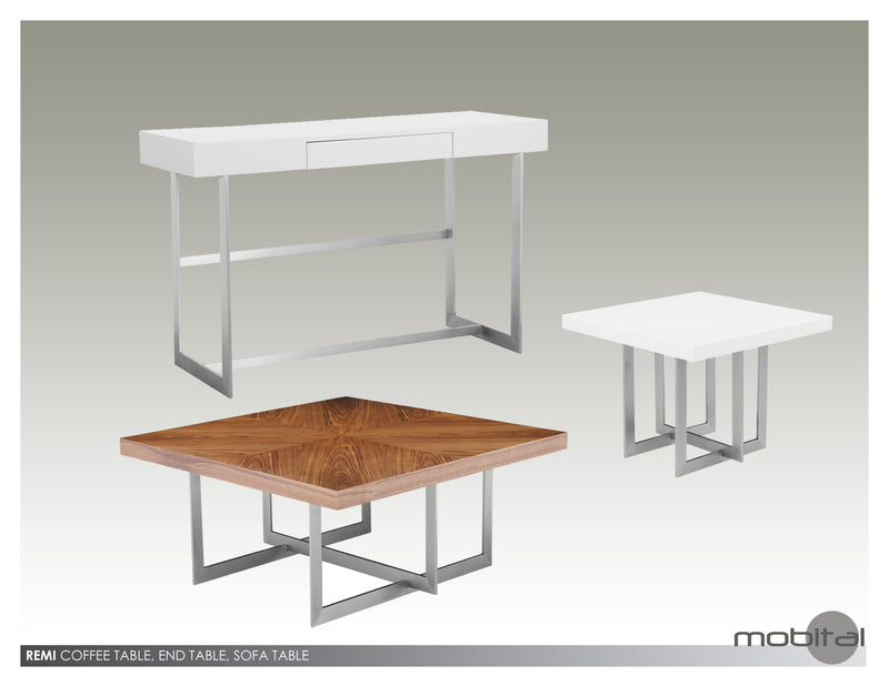 Remi Coffee Table   (White)