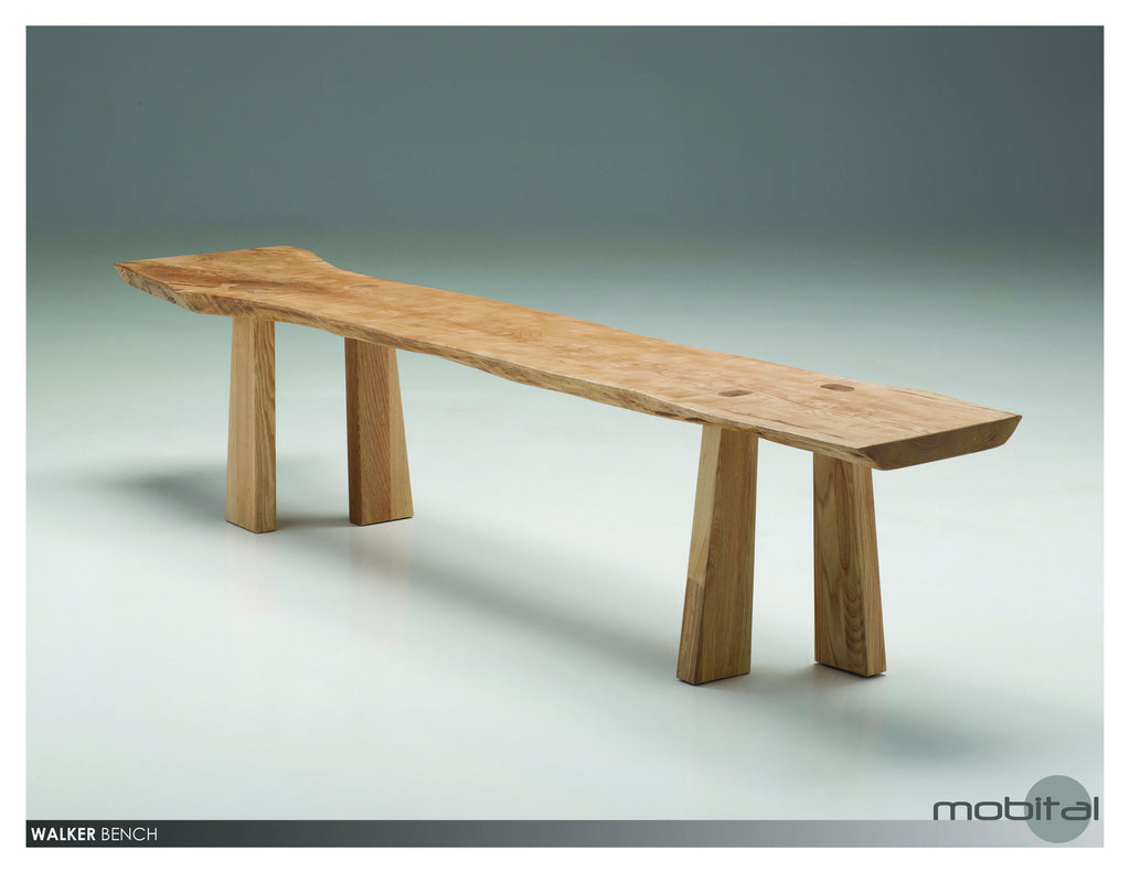 Walker Bench  (Natural Wood)