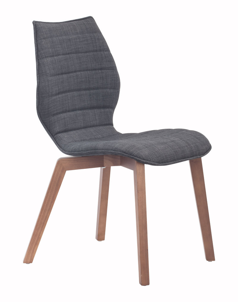 Aalborg Dining Chair (Graphite)