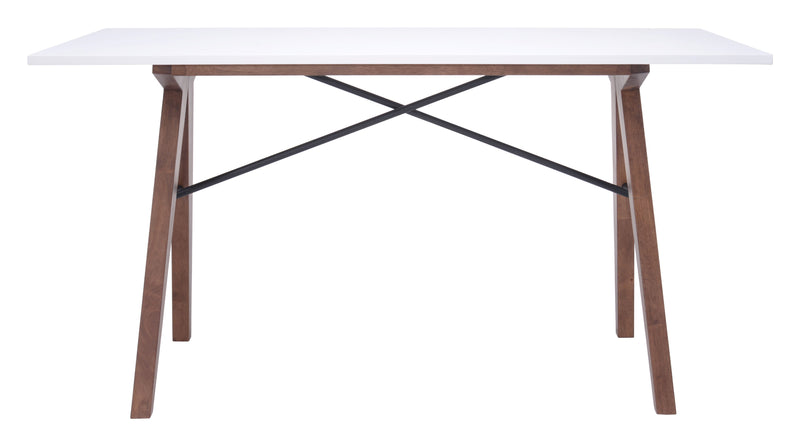 Saints Desk (Walnut & White)