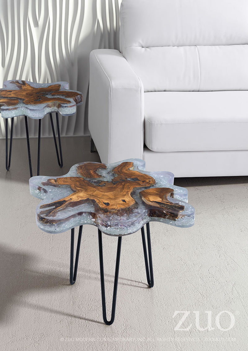 Jigsaw Side Table (Natural)