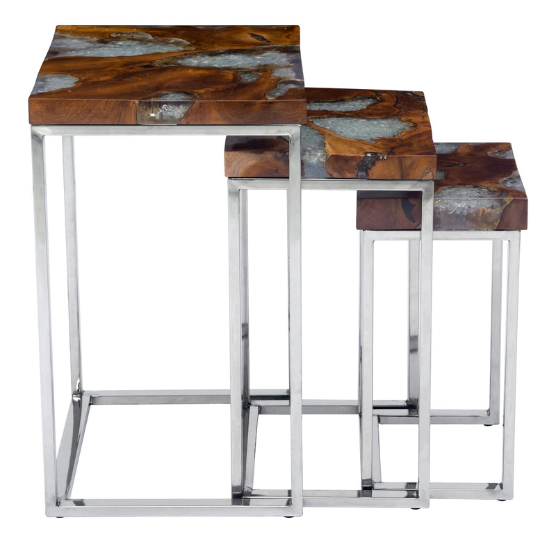Fissure Nesting Tables (Natural)