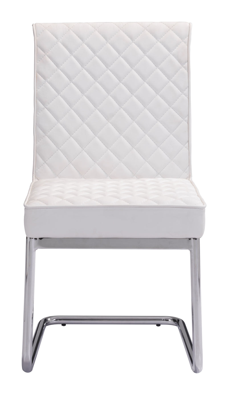 Quilt Armless Dining Chair