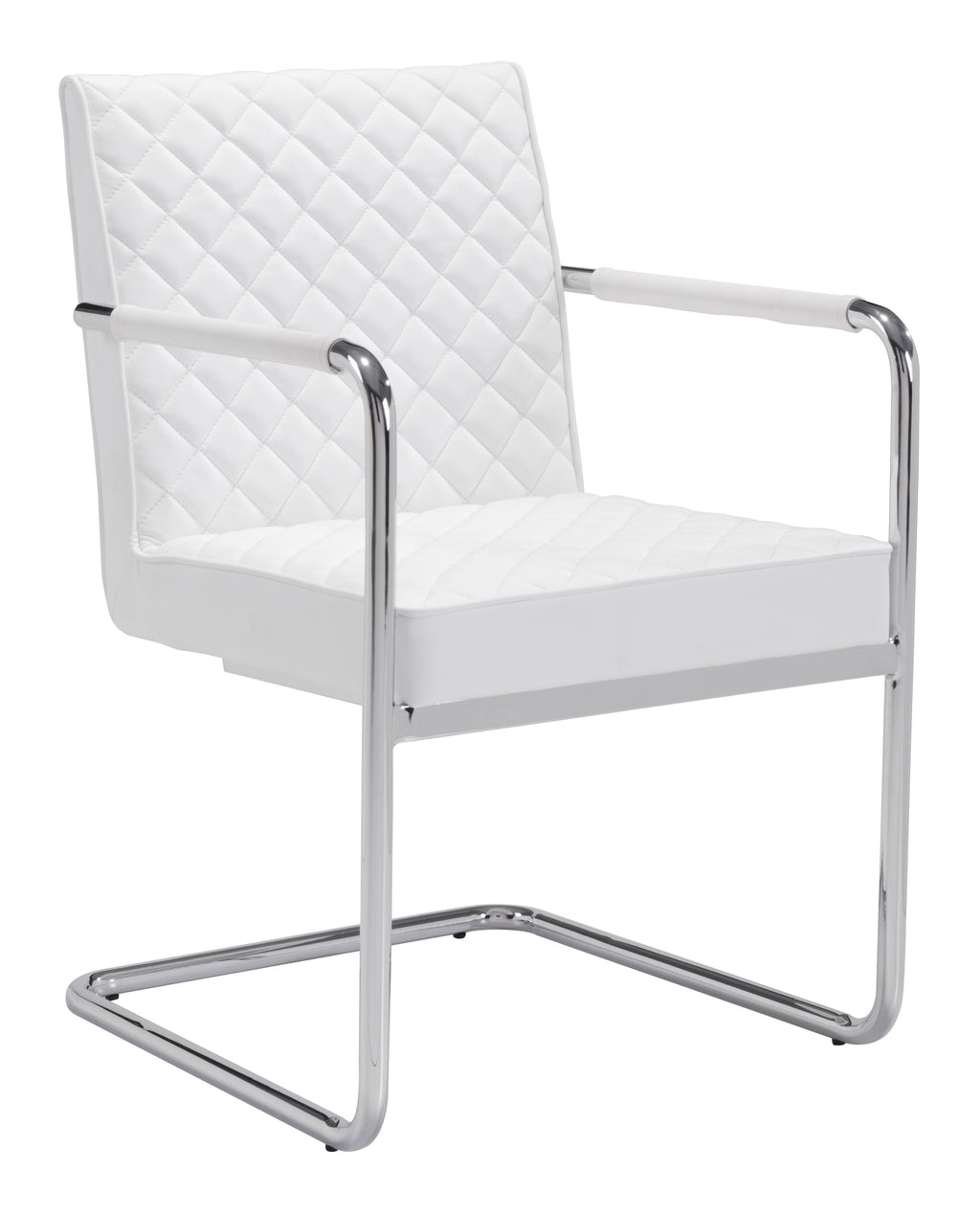 Quilt Dining Chair (White)
