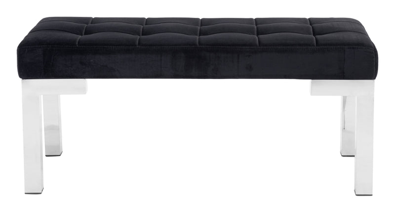 Partner Bench (Black Velvet)