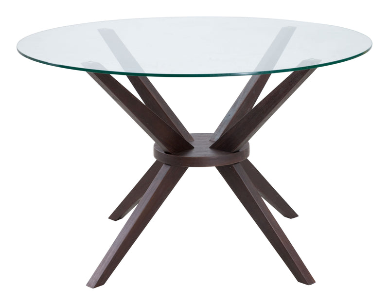 Cell Dining Table (Dark Walnut)