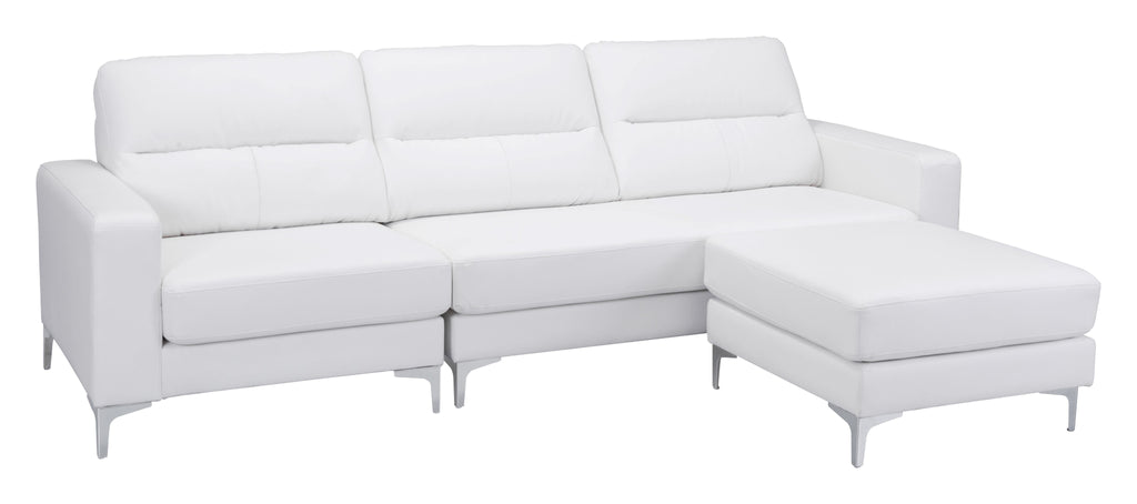 Versa Sectional (White)
