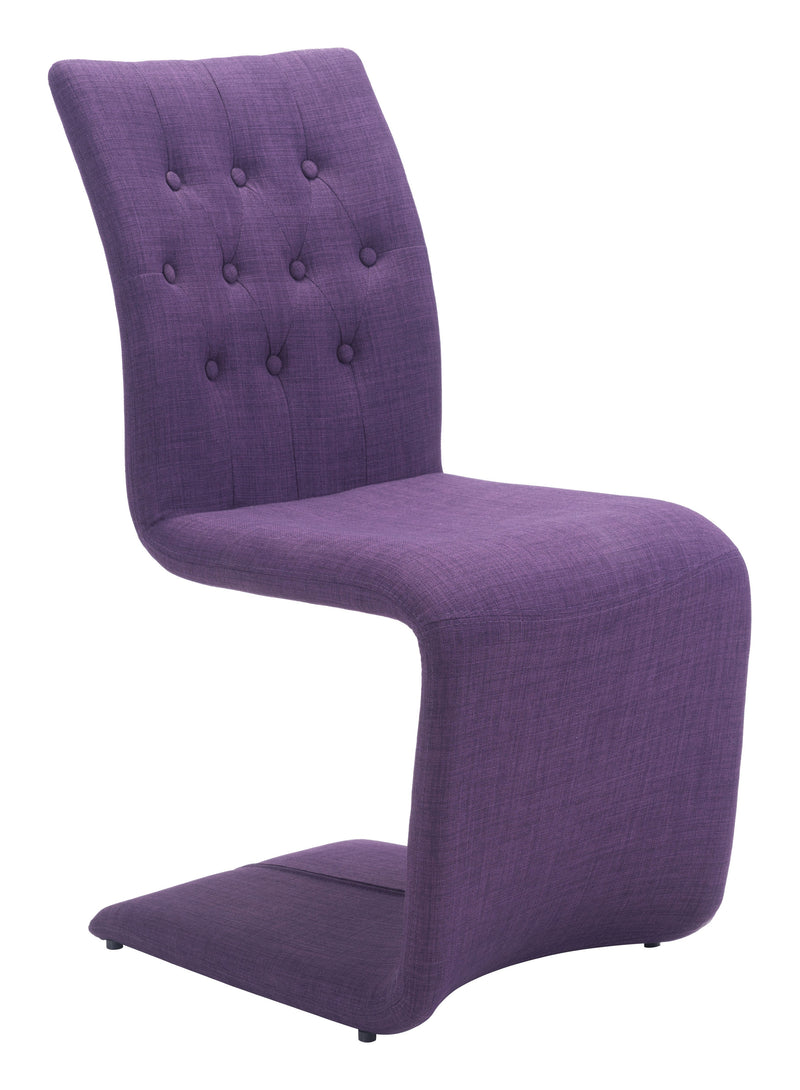 Hyper Dining Chair (Purple)