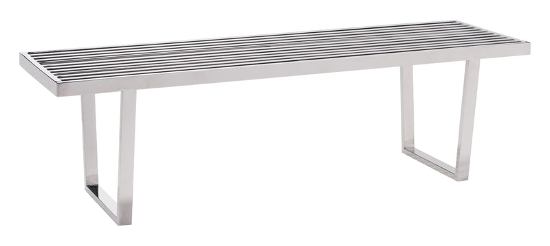 Niles Bench (Stainless Steel)