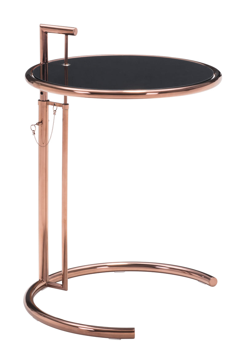 Eileen Grey Side Table (Rose Gold)