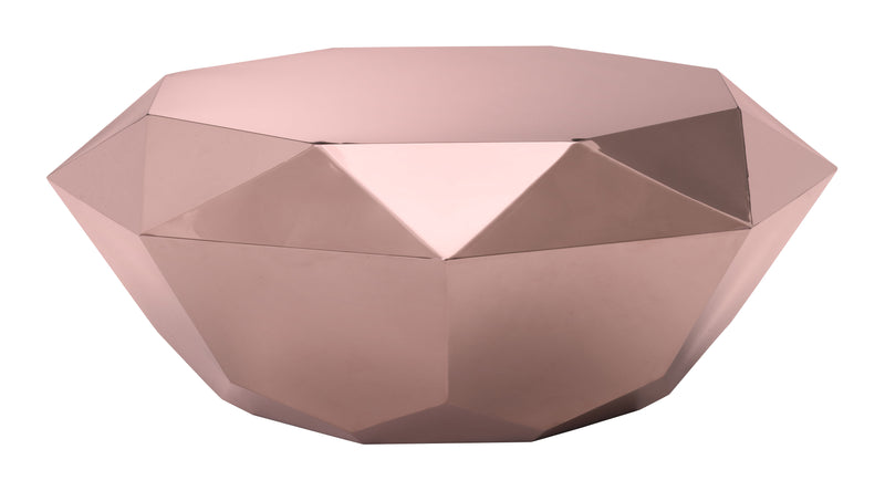 Gem Coffee Table (Rose Gold)