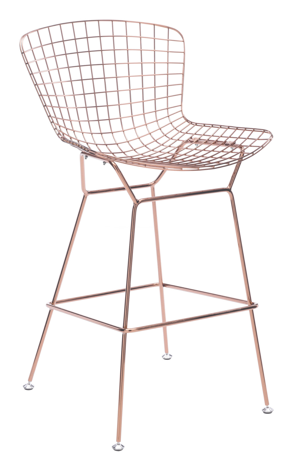 Wire Bar Chair (Rose Gold)