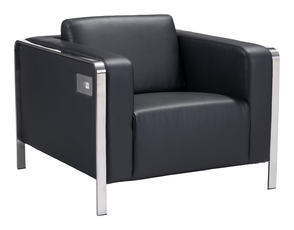 Thor Arm Chair (Black)