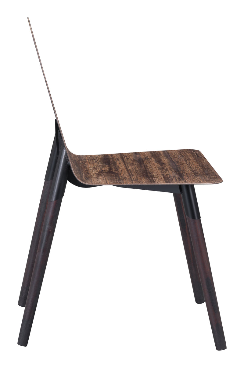 Ignore Dining Chair (Distressed Brown)