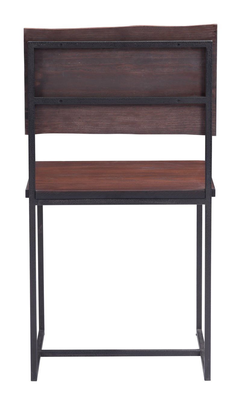 Papillion Dining Chair (Distressed Cherry Oak)