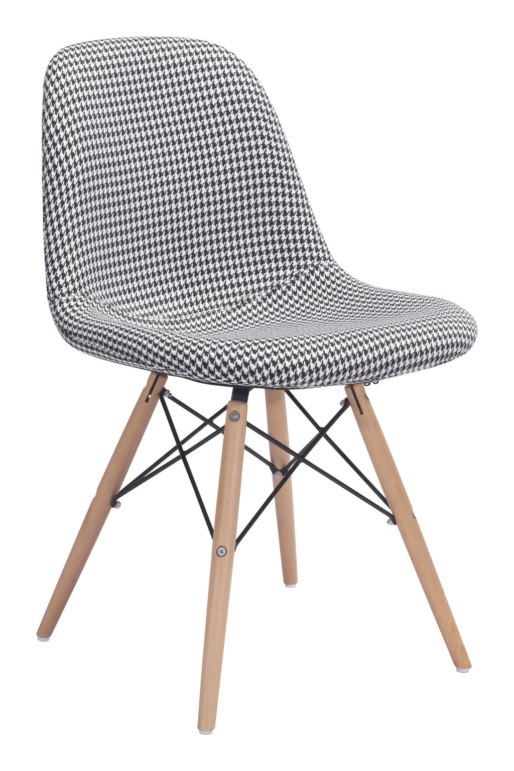 Sappy Dining Chair (Houndstooth)