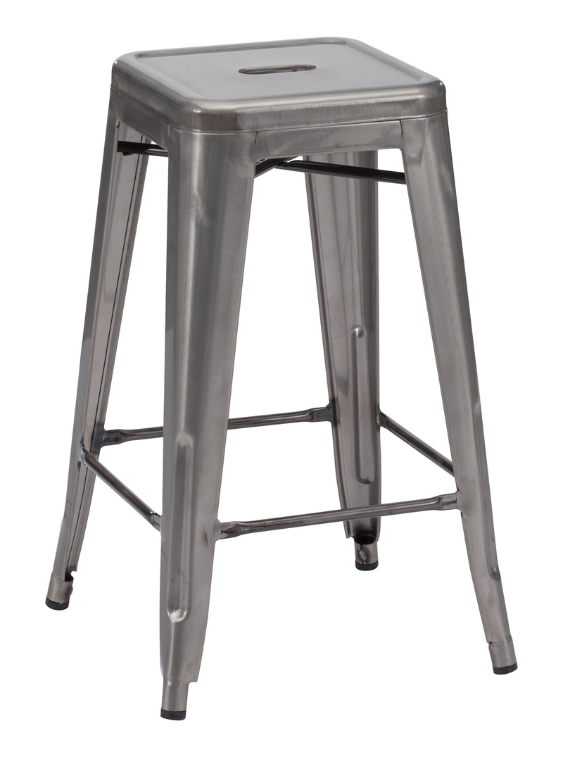 Marius Counter Stool (Gunmetal)