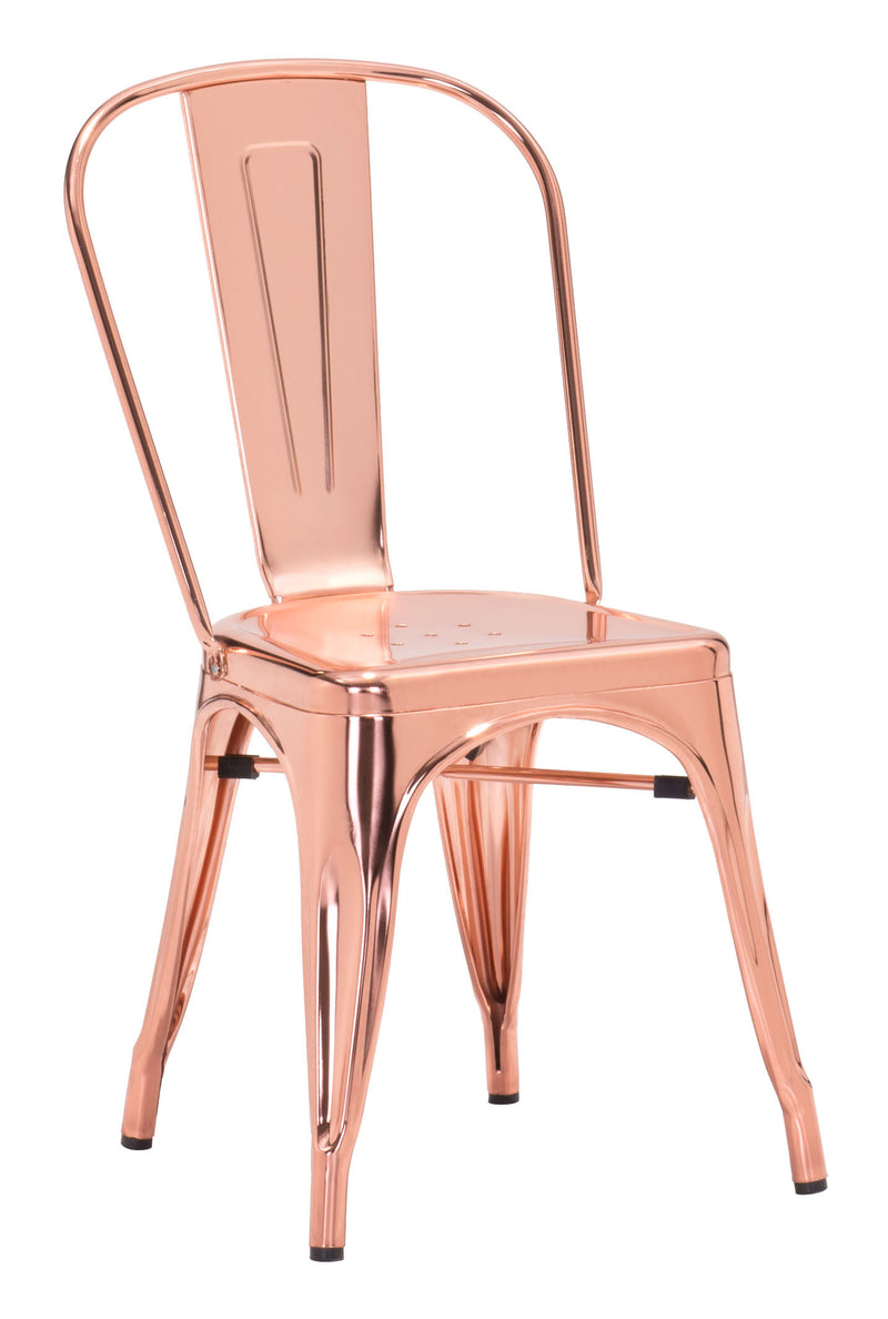 Elio Dining Chair (Rose Gold)