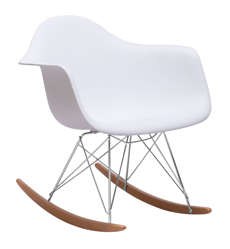 Rocket Occasional Chair (White)