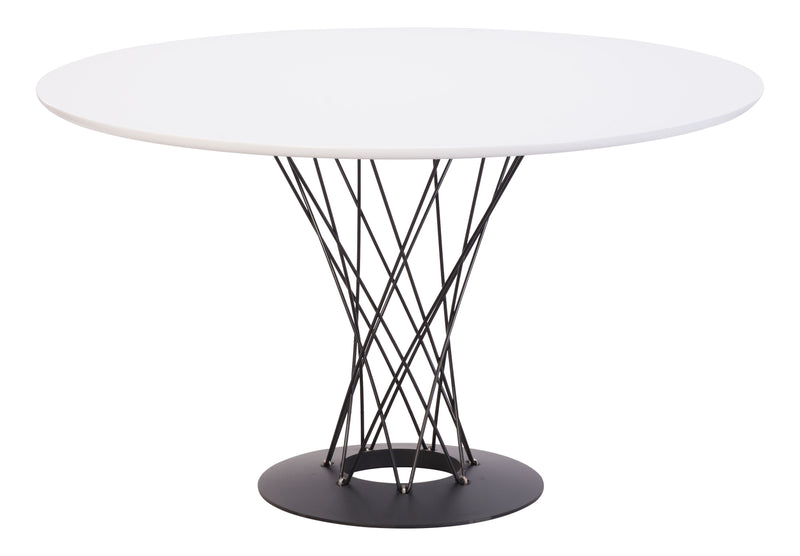 Spiral Dining Table (White)