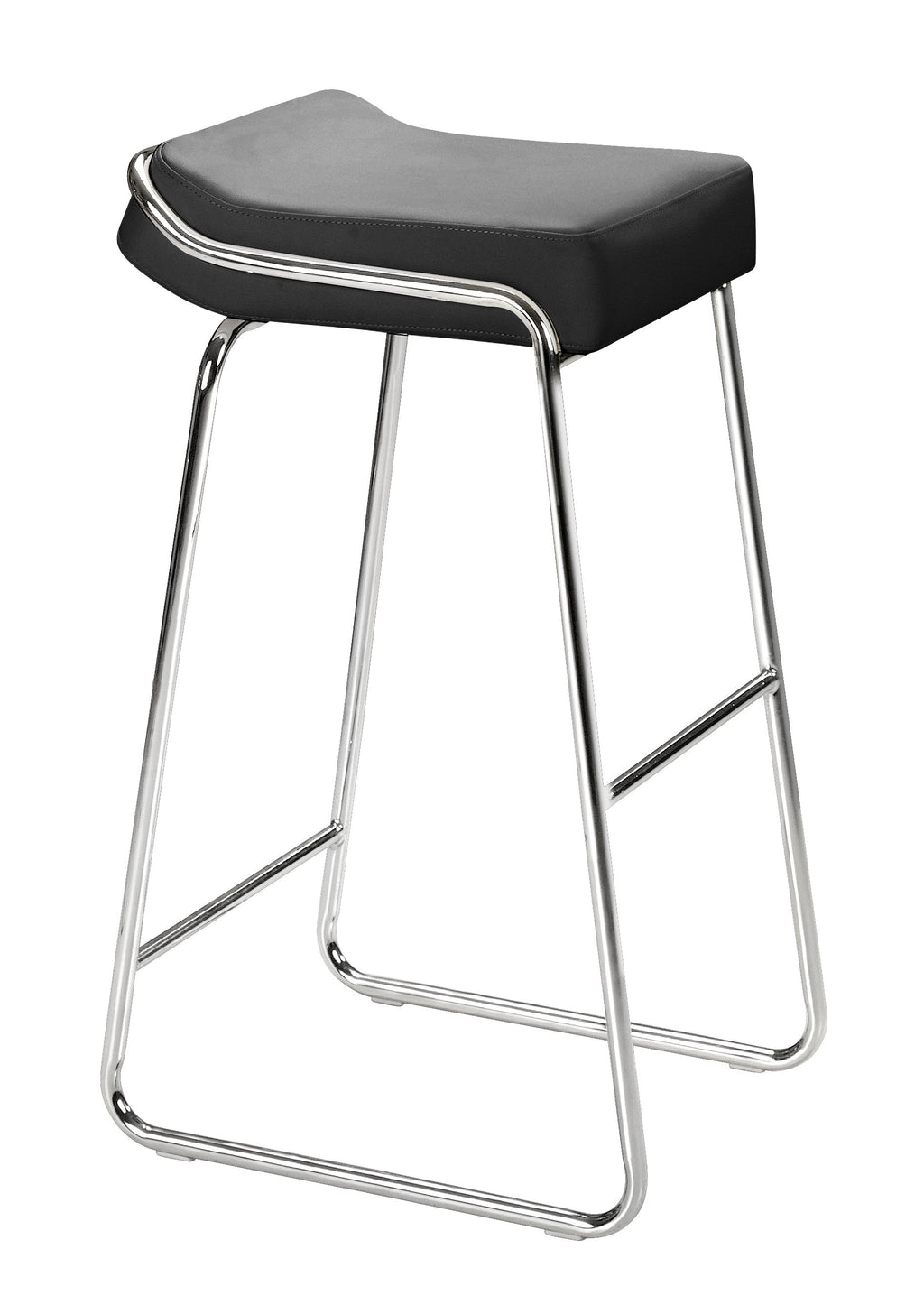Wedge Barstool (Black)