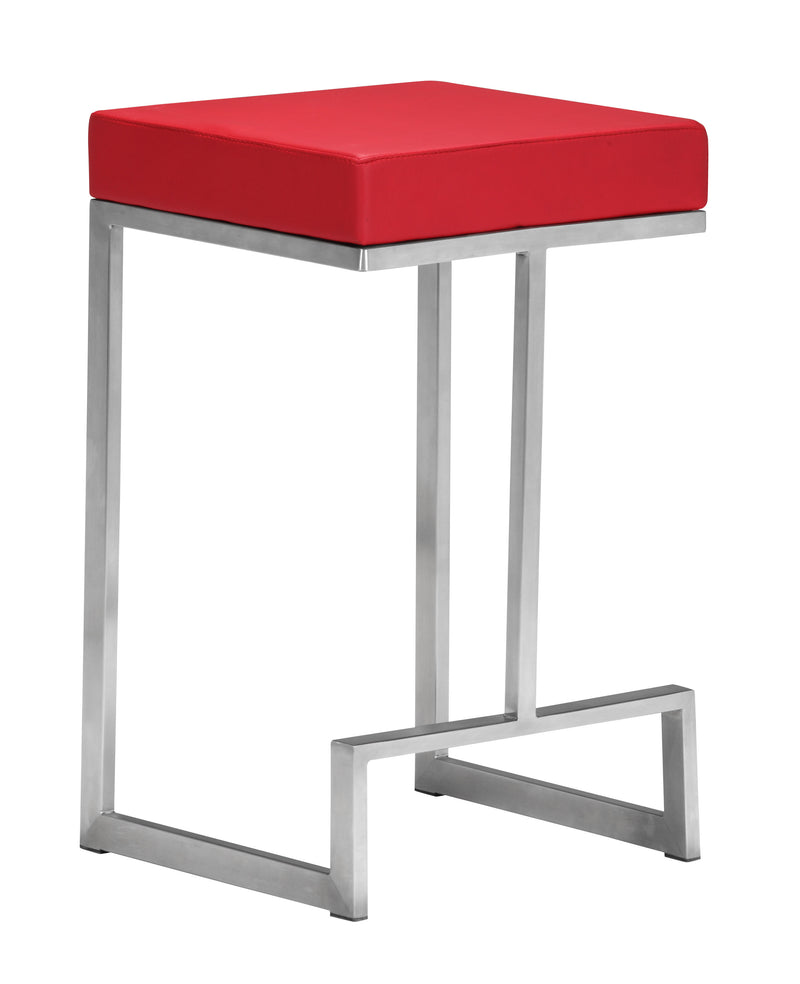 Darwen Counter Stool (Red)