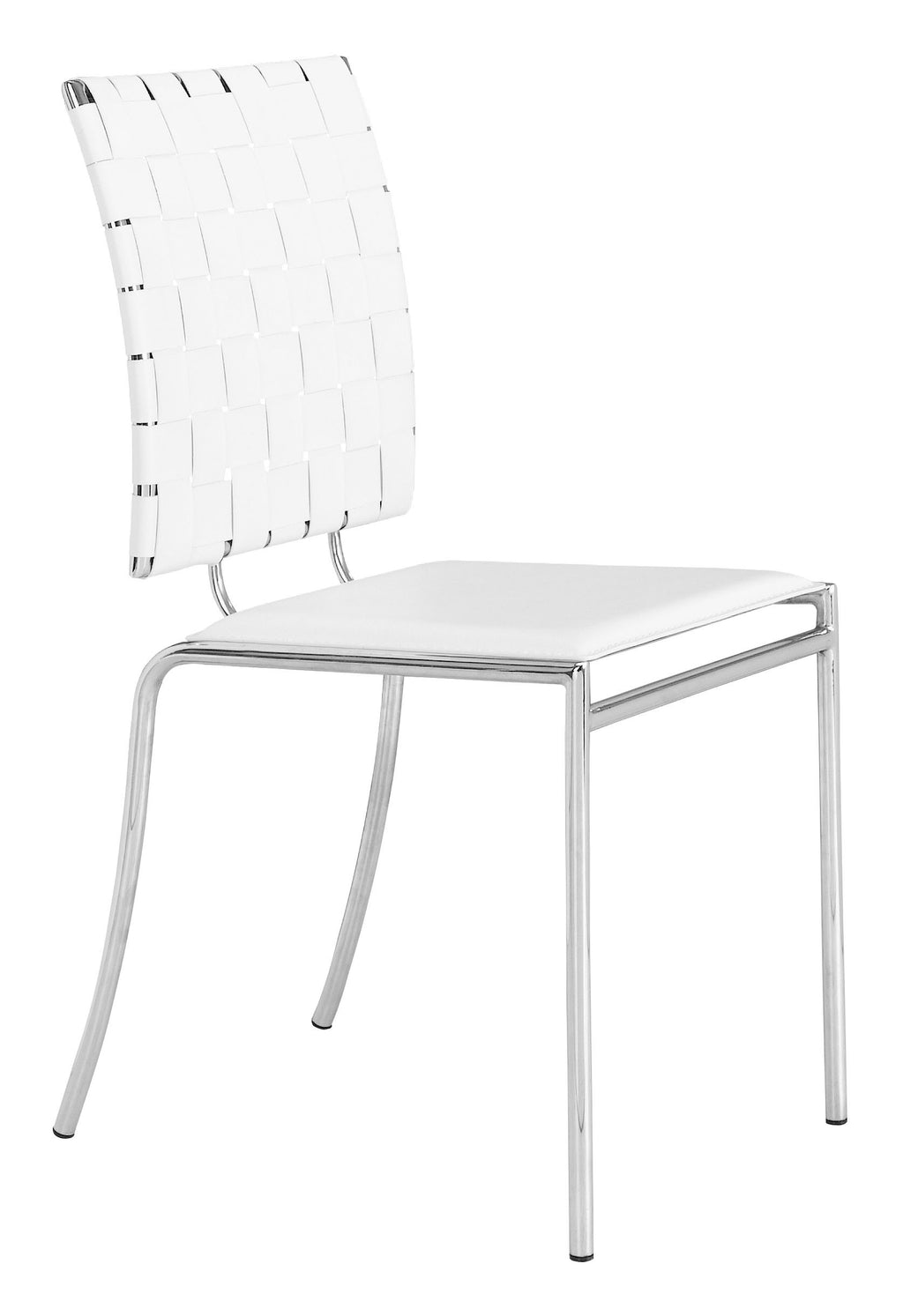 Criss Cross Dining Chair (White)