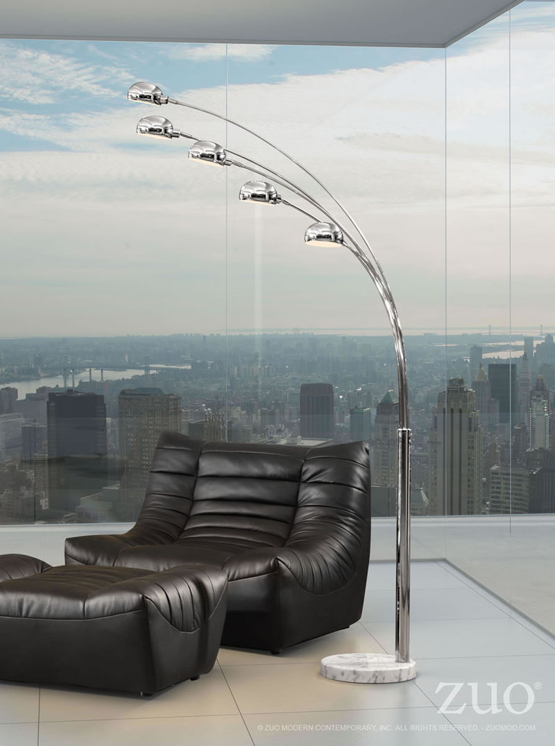 Cosmic Floor Lamp (Chrome)